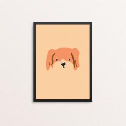 Plakat: Hund i et