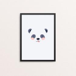 Plakat: Panda i et