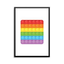 Plakat: 'Square' firkant,...