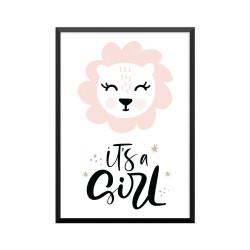 2218 Plakat: 'it's a Girl'...