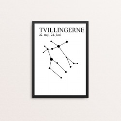 Plakat: Stjernetegn 03, DK...
