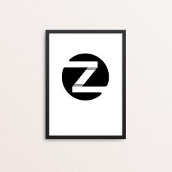 Plakat: Bogstavet Z